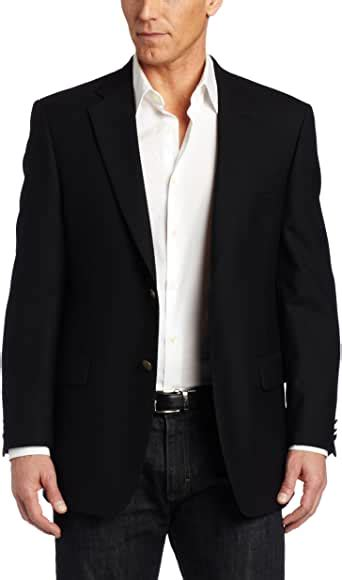austin reed mens classic blazer black  long  amazon