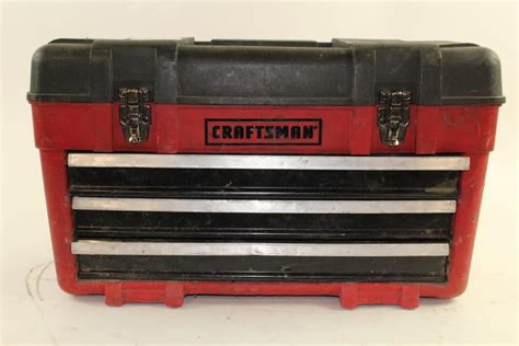 craftsman 3 drawer tool box craftsman 3 drawer tool box with tools 40 pieces