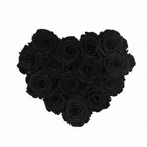 Ewige Rosen Box : schwarze ewige rosen in schwarzer herzbox online blumenladen rose du ch teau ~ Eleganceandgraceweddings.com Haus und Dekorationen