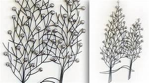 Décoration Murale En Fer : d coration murale en fer forg arbres ~ Teatrodelosmanantiales.com Idées de Décoration