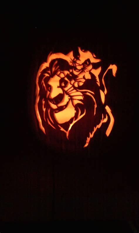 4000 Lion King Pumpkin Disney Pumpkin Carving Pumpkin