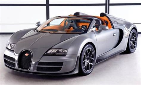The 1,200 Hp Bugatti Veyron Vitesse Is The Fastest