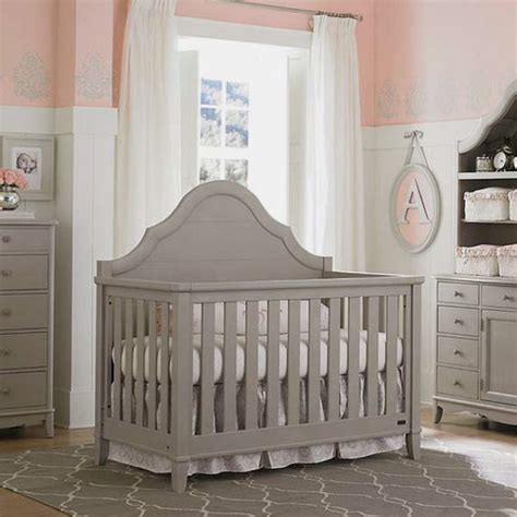 gray convertible crib crib dove gray bassett baby caroline s room
