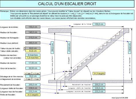 calcul escalier sur mesure comment calculer un escalier droit 28 images mesure escalier droit calcul escalier quart