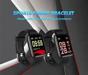 116 Plus Bluetooth 4 0 Sports Smart Fitness Tracker Heart