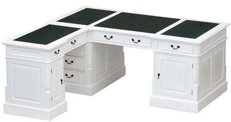 bureaux en anglais bureau d 39 angle victorien acajou blanc cambridge meuble