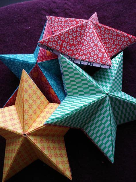 cr 233 er une 233 toile diy en origami pour no 235 l origami 201 toiles et cr 233 er