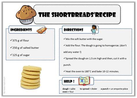 Anglais  Recettes Pour Cuisiner Avec Vos élèves ! Le