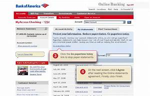 Green tip how to go paperless e statements on line for Bank of america document shredding