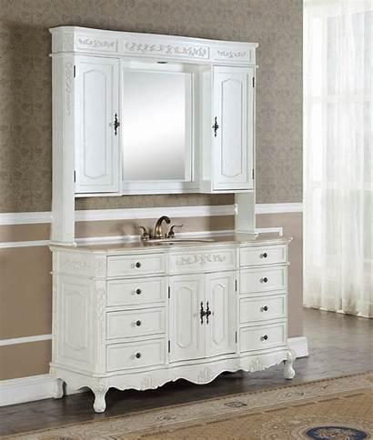 Bathroom Antique 60 Vanity Cabinet Medicine Kensington