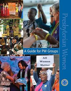 Pw Manual  A Guide For Pw Groups  Print Edition