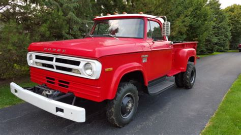 This 1979 dodge power wagon pickup is a great way to standout in the vintage pickup world without having to give up serious truck utility. 1970 Dodge Powerwagon D300 4x4 Dually low miles - Classic ...