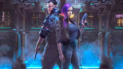 Cyberpunk 2077 Cosplay Wallpapers Cyborg Games Hair