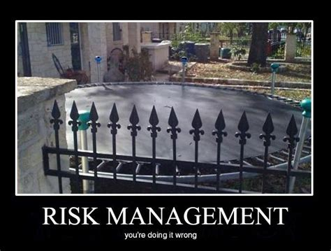 risk management.. not   Insurance can be funny (no really