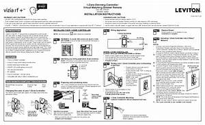 Leviton Vrcz1 Installation Manual And Setup Guide