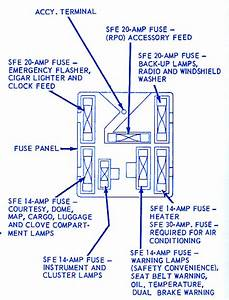 Ford Montego Classic 1966 Fuse Box  Block Circuit Breaker Diagram