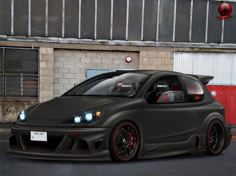 Peugeot 206 Tuning by Peugeot Images Peugeot 206 Tuning Hd Wallpaper And