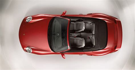 red porsche  turbo cabriolet wallpapers