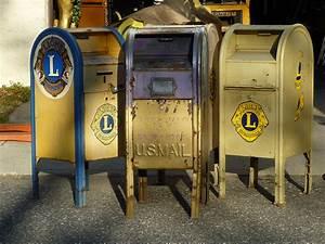 1950 U2019s Style U S  Post Office Corner Mail Box  U00ab Obnoxious