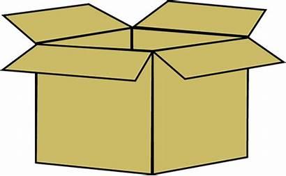Box Clip Cardboard Graphics Mycutegraphics Storage Brown