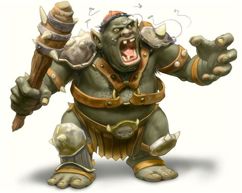 Angry Ogre by Chris Beatrice