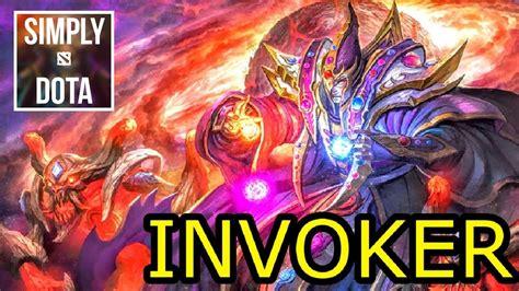 invoker dota 2 pro gameplay dota 2 invoker gameplay youtube