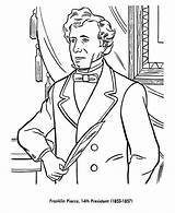 Coloring Pages Franklin Pierce Presidents President Printable Odyssey Sheets Usa Printables American Print States United List Adventures Presidential History Go sketch template