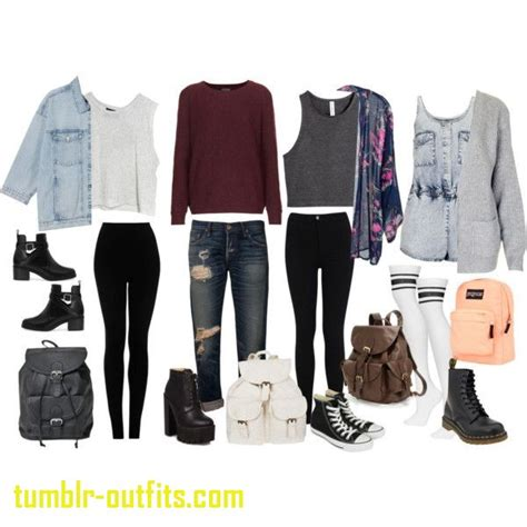 Fresh Cute Outfit Ideas for School Spring | Tumblr Outfits