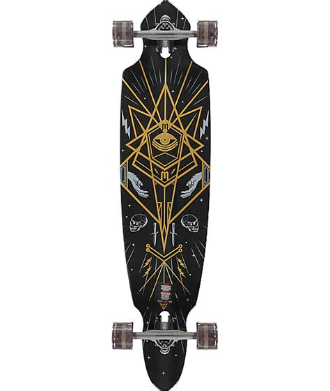 Drop Deck Longboard Zumiez by Mercer Mystic Society 42 Quot Drop Through Longboard Complete