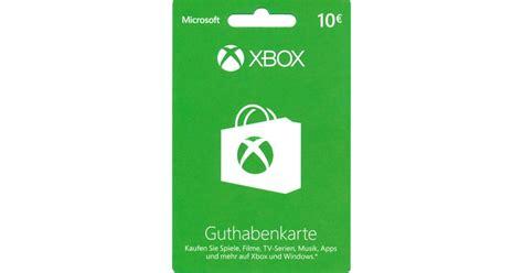Xbox One Guthaben Karte