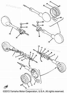Yamaha Motorcycle 1977 Oem Parts Diagram For Flasher Lamp  Xs750
