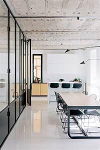 Verriere Interieure Metallique : la d co int rieure d 39 un loft avec b ton et verri re m tallique ~ Premium-room.com Idées de Décoration