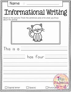 Printable Writing Worksheets For 1st Grade