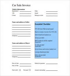 free bill of sale form for car doc 674815 car sale invoice template australia