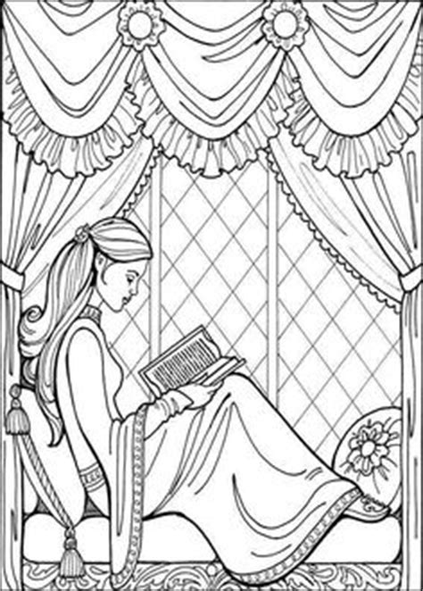Girl with a camera coloring page | Coloring Pages for
