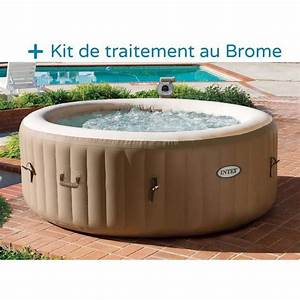 Spa Gonflable INTEX 4 Personnes 120 Diffuseurs Achat