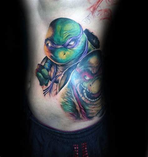 teenage mutant ninja turtle tattoo designs  men