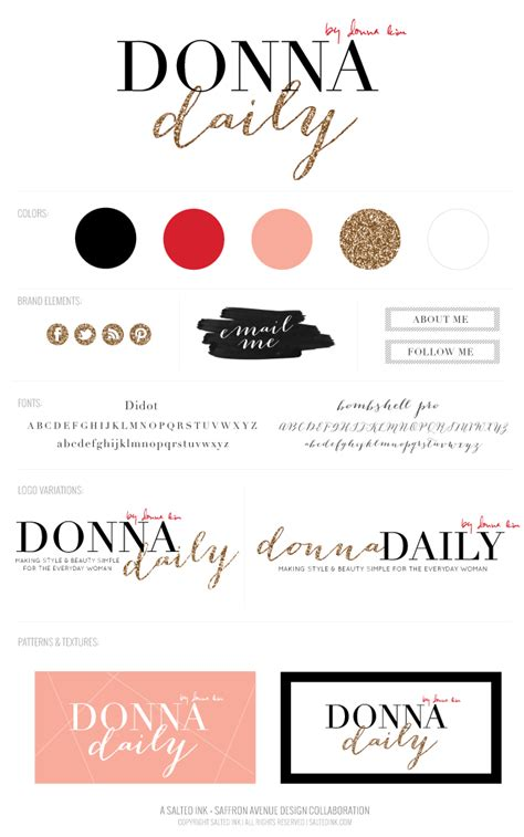 Donna Daily  Business Branding  Graphic Design