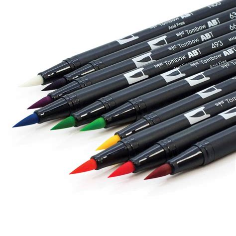 Coloring With Brush Pen by Free Coloring Card For You To Color With Tombow