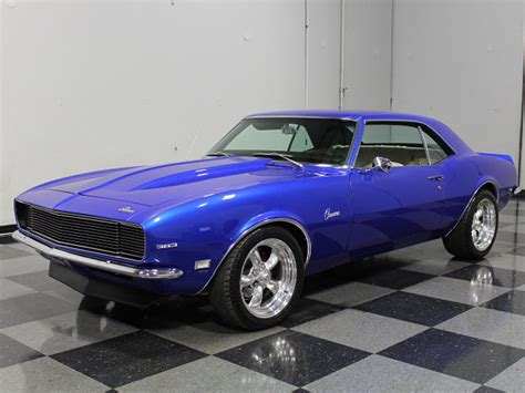 modded muscle cars 1968 chevrolet camaro resto mod muscle car