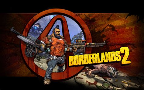 borderlands  logo wallpaper