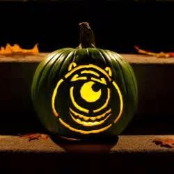Mike Wazowski Pumpkin Stencil by 13 Spooktacular Disney Character Jack O Lanterns Disney Baby