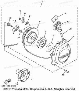 Yamaha Atv 1999 Oem Parts Diagram For Starter