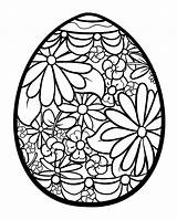 Easter Egg Coloring Flowers Adult Adults Mandala Eggs Paques Coloriage Colorier Sheets Printable Spring Justcolor Pâques Oeufs sketch template