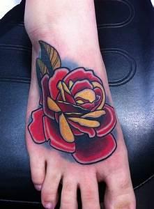 Tattoos - Neo-traditional Rose Tattoo | Tatt'z | Pinterest ...