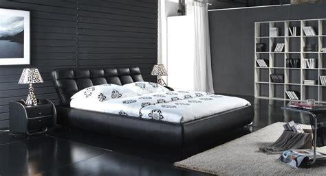 taille minimum chambre lit mou de chambre à coucher en cuir classique 6022 lit