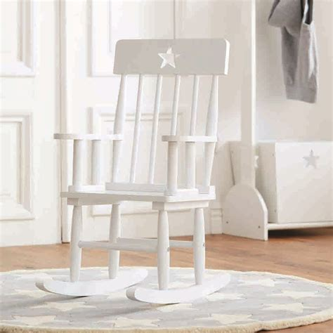white wooden rocking chair chairs sofas