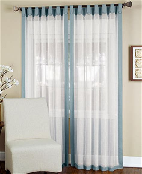 Macys Curtains And Window Treatments by Elrene Sheer Ella Window Treatment Collection Sheer