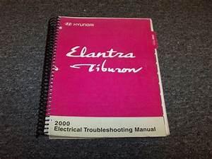 2000 Hyundai Elantra  U0026 Tiburon Electrical Wiring Diagram