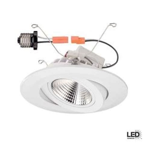 commercial electric 5 inch recessed lighting commercial electric 6 in recessed white gimbal led trim